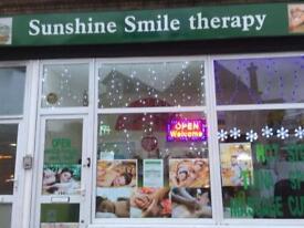 Sunshine positive energy &powerful sport massage