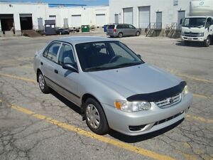 2001 Toyota Corolla CE ~ LOW MILEAGE ~ DRIVES GOOD ~ CERTIFIED ~