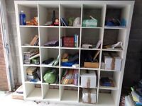 Ikea Billy Large bookcase suitable for books and or display 6 ft x 6 ft square x 15 in deep