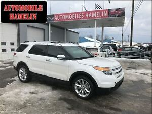 2014 Ford Explorer limited gps toit pano cuir mags  bas kilo