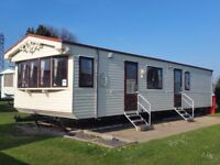 2 bed caravan available for hire in 2018 at valley farm