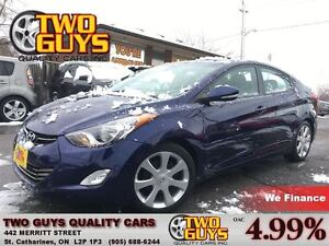 2012 Hyundai Elantra Limited LEATHER MOON ROOF MAGS