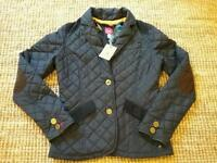 BRAND NEW JOULES JACKET/COAT SIZE 8 WITH TAGS