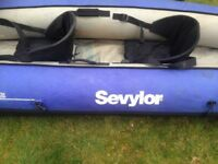 2 man inflatable Sirocco kayak