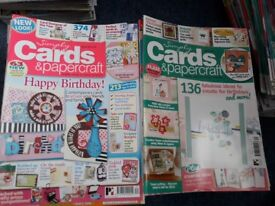 Various cardmaking and papercraft magazines