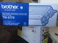 Brother TN -3170 Ink Cartridge for Laser Printer. New - Boxed and Sealed