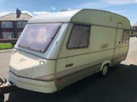 4 berth sprite. 2 double beds. I can deliver free. Cheap
