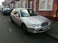For sale Rover 25 2001 YEAR MOT 2018 NOVEMBER