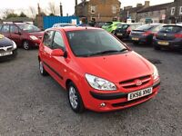 STUNNING---HYUNDAI GETZ CDX AUTOMATIC 1.4cc LONG MOT GREAT FIRST CAR OR FAMILY CAR
