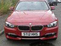BMW 328I LUXURY 2012,1 CAREFUL OWNER,FULL BMW SERVICE HISTORY,MOT DUE 31/05/19,LOW MILEAGE