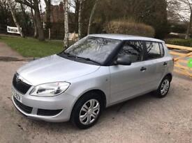 2013 Skoda Fabia 1.2 12v S 5dr Low mileage 20000 Insurance S /C 1 Year mot Excellent condition