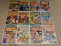 Master of Kung Fu #15-125 (1971) | Near Complete Series Run (97 Comics)