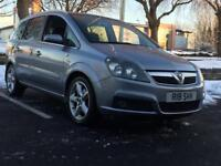 *XMAS SALE!! *VAUXHALL ZAFIRA *2008 *7 SEATER *LOW MILES *SATNAV *BLUETOOTH *150BHP *P/X *DELIVERY
