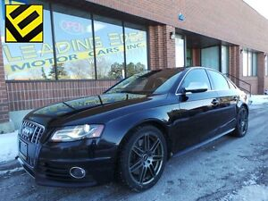 2011 Audi S4 3.0 Premium Nav, B and O, S Tronic w/psh to star...