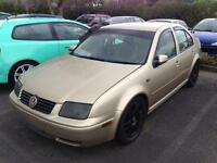 2003 Volkswagen Bora 1.6 S *Modified* - Spares or Repair (may swap)