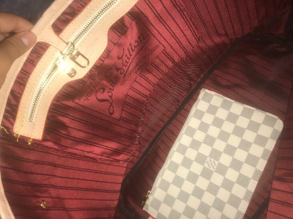 3013a0d81657 Louis Vuitton neverfull handbag!! SATIN LINING!! Enfield ...