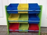 Kids Toy Storage Shelf