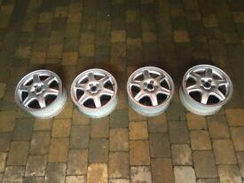 "VR6 GTI Corrado BBS solitude 5X100 15"" 4x alloy wheels, corrado , vr6, golf mk3 highline"