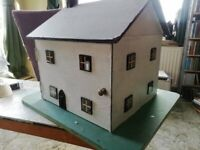 Handcrafted square doll house