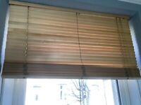 IKEA wooden slatted blind