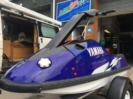 Yamaha Superjet 701 stand up jetski factory pipe carbon hood alloy pole freeride