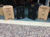 2x Ekho VX10 Passive Speakers