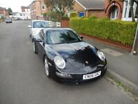 Black 2006 Porsche Carrera 911 3.8 S