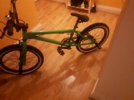 BMX python bike almost new