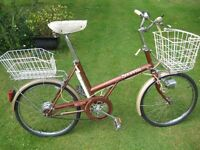 COMPREHENSIVELY EQUIPPED RALEIGH SHOPPER LADIES BIKE