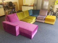 Harlequin 5 Seater Corner Sofa Suite