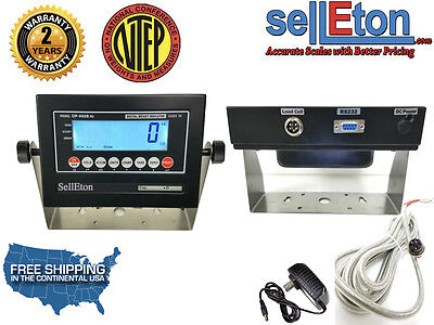 New Ntep Legal For Trade Op-900 A B Mild Steel Scale Indicators Lcd Or Led