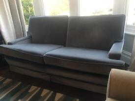 Blue sofa for sale