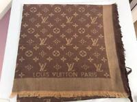 Louis Vuitton beige scarf - brand new with tags