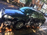 BLACK AUDI A4 WITH MOT AND IN CAR NAVIGATION MOT £2800 ONO