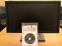 Dell 21 inch monitor - excellent condition. comes with instructions and cables