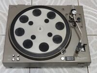 Vintage Audiophile SONY PS-4750 Direct Drive Turntable Record Player With new Cartridge