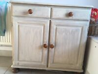 Painted cupboard - great shabby chic project!