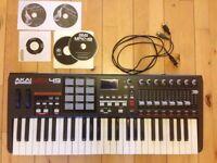 Akai MPK49 Midi USB Keyboard