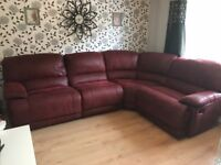 Large corner group sofa left and right hand