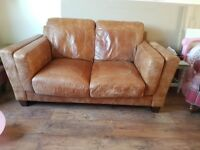 2 seater leather sofa - from John Lewis