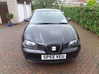 Seat Ibiza SX 1.2 (1200cc 12 valve) 3 Door Hatchback, Black