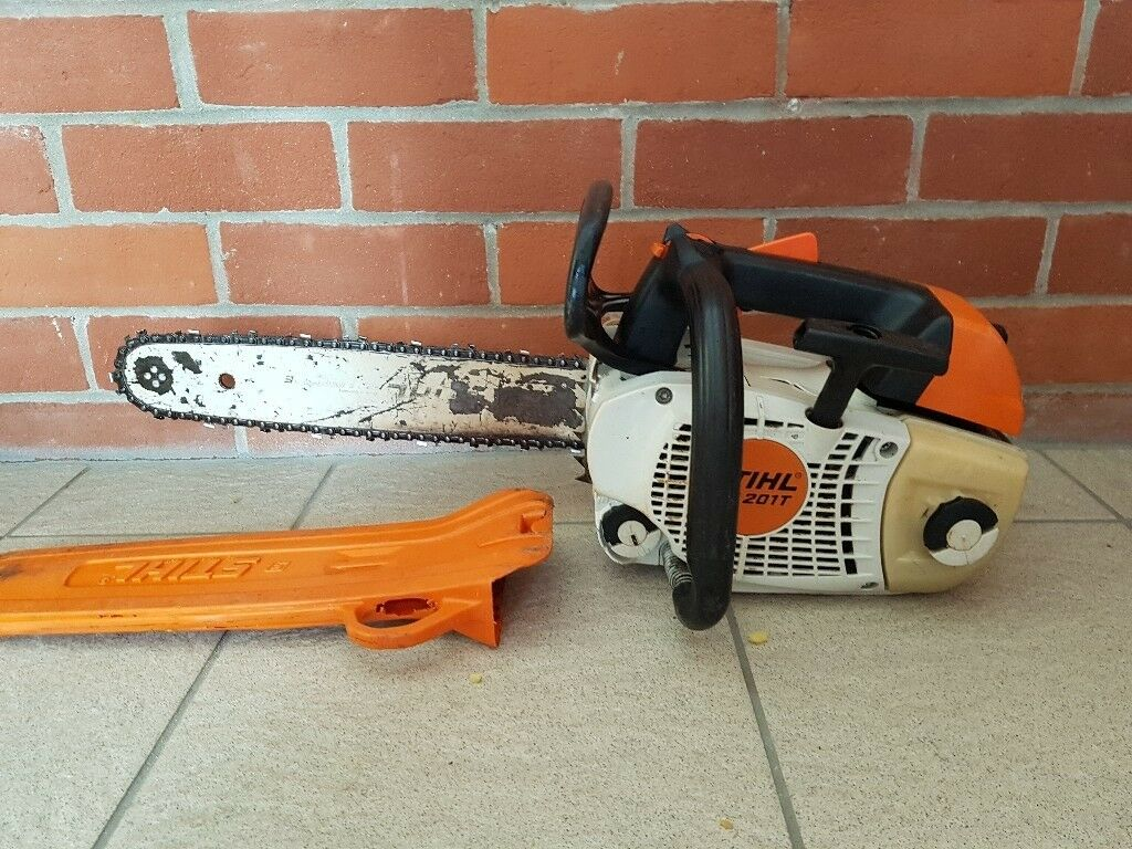 Stihl Ms 201t Petrol Chainsaw Topping Saw In Ipswich