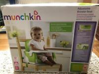 Munchkins adjustable booster seat