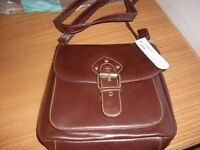 clarks leather hand bag