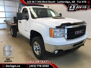 Used 2011 GMC Sierra 2500HD Flat Deck-40/20/40 Split Bench