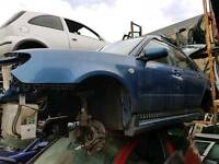Breaking 2007 Subaru Impreza wagon 1.5 petrol blue Hawk eye
