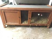 Single Guinni pig hutches for sale £15 each
