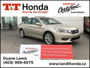 2015 Honda Accord Touring V6* Navi, Rear Camera, Leather *