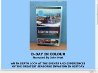 D-Day In Colour VHS Film Documentary