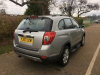 2007 CHEVROLET CAPTIVA 2.0 DIESEL 7 SEATER FULL BLACK LEATHERS 103 000 MILES